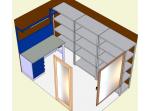 Обустройство гаража, мастерской, кладовой садового инвентаря и помещения хранения топливных брикетов в п. Большие пороги