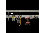 Планка перфорированная металлическая MS001
