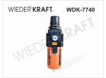 Фильтр-масловлагоотделитель с регулятором и манометром WDK-7740
