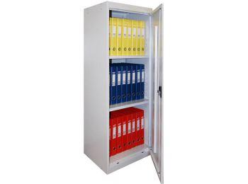 Шкаф металлический (ВхШхГ) 131x49x38,5 см