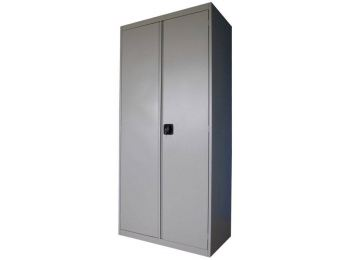 Шкаф металлический (ВхШхГ) 185x85x38,5 см