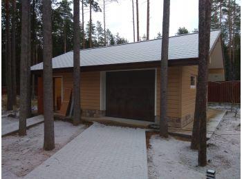 Обустройство гаража в п. Рощино