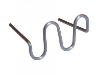 Скобы  для ремонта пластиковых деталей 0,8мм (100шт) WDK-65082