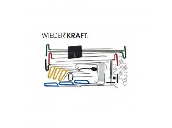 WDK-65214 Набор для устранения вмятин без покраски с эргономичным покрытием рукояток