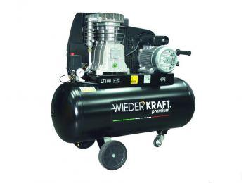 Профессиональный компрессор с ременным приводом WDK-91053