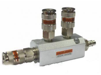 Разветвитель пневматический, 3 быстроразъемных соединения WDK-84MB