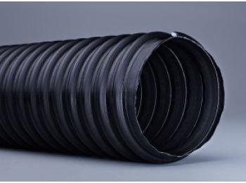 Воздуховод с неопреновым покрытием, серый 100mm, 5м,-40/+140°C 40.107.270