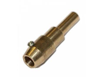 Адаптер - держатель угольного (карбонового) стержня F009