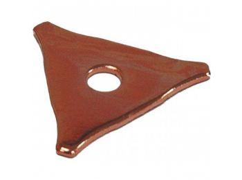 Треугольные приварочные шайбы /мин.10шт/ F015