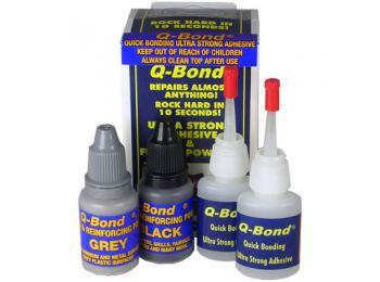 Клеевая система для быстрого и крепкого ремонта бамперов Q-Bond