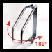 Велопарковка настенная регулируемая RC1815B